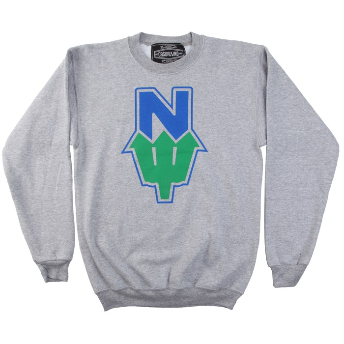Casual Industrees - N Dub 2 Tone Crew Neck Fleece