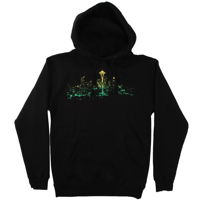 Casual Industrees - Seattle Lights Fade Pullover Hoodie