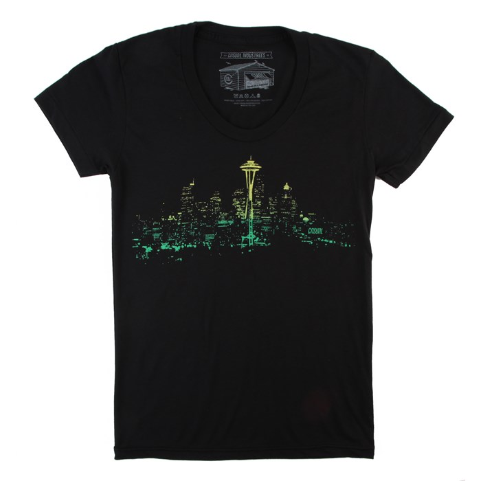 Casual Industrees - Seattle Lights Fade T-Shirt - Women's