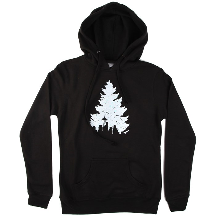 Casual Industrees - Johnny Tree Speckle Pullover Hoodie - Women's
