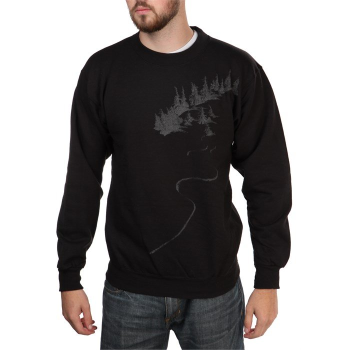 Casual Industrees - Liza Tree Reflect Crew Neck Fleece