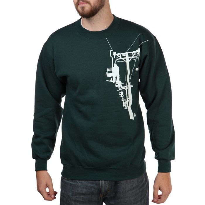 Casual Industrees - Chairlift Crew Neck Fleece