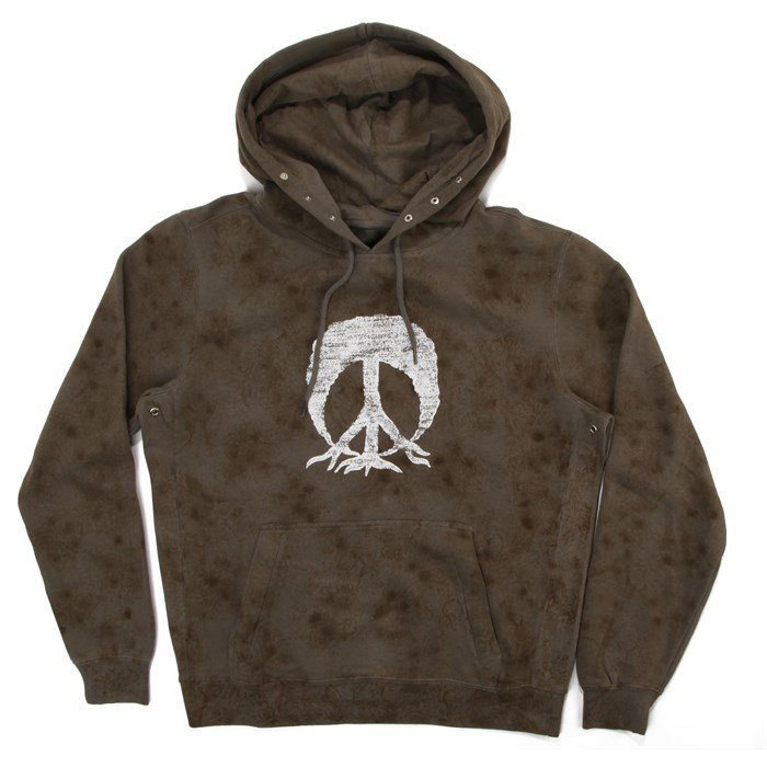 Gnarly - Tie Dye Camo Hooded Sweatshirt