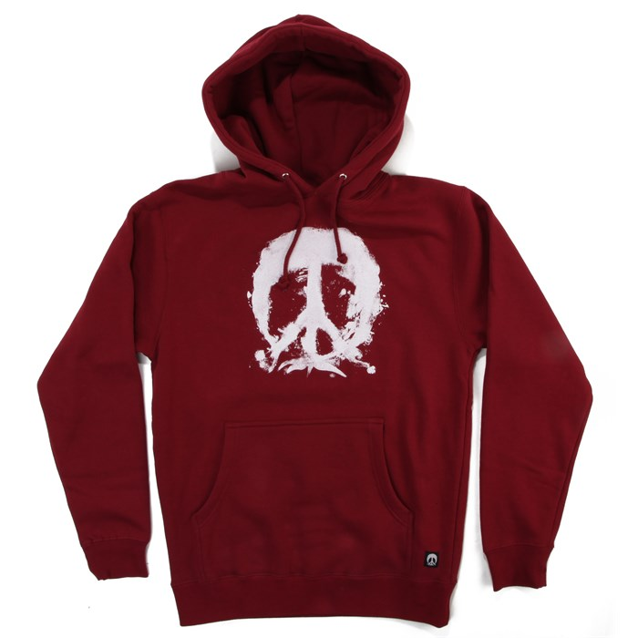 Gnarly - Painted Tree Hooded Sweatshirt