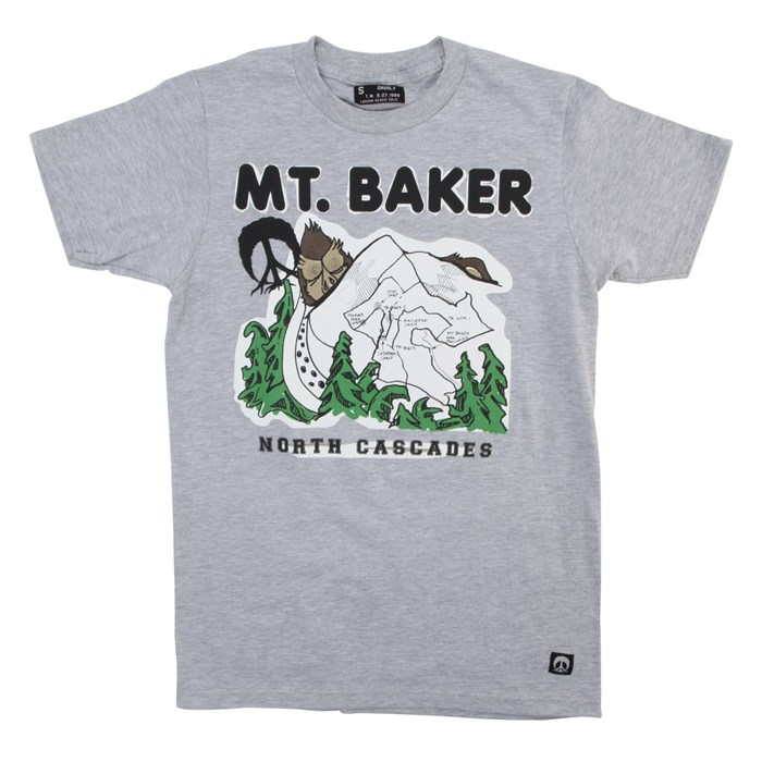 Gnarly - Mt. Baker T-Shirt