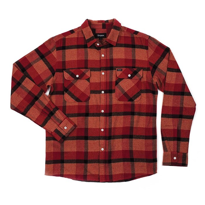 Brixton - Bowery Long-Sleeve Button-Down Flannel