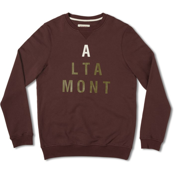 Altamont - Lock Step Crew Fleece