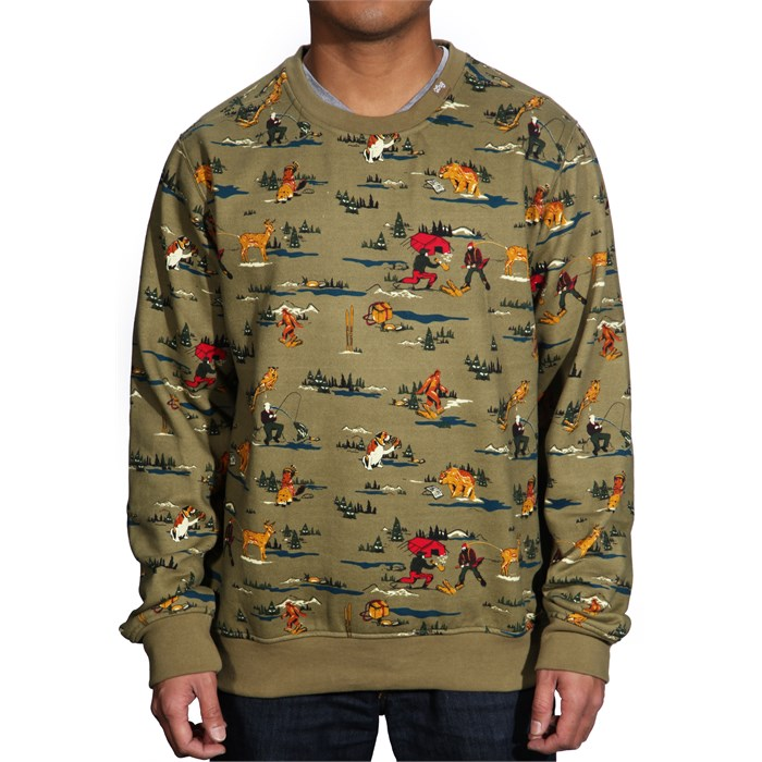 LRG - Father Nature Crew Neck Sweatshirt