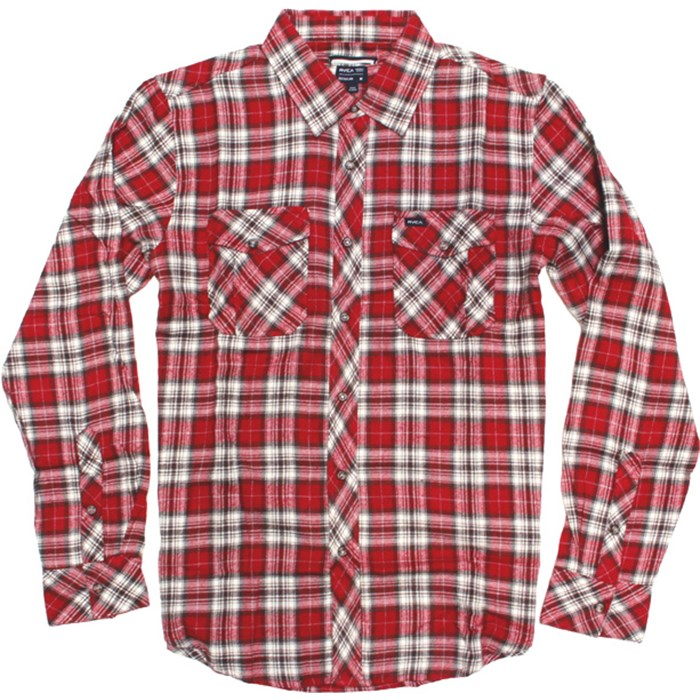 RVCA - Tussle Long-Sleeve Button-Down Shirt