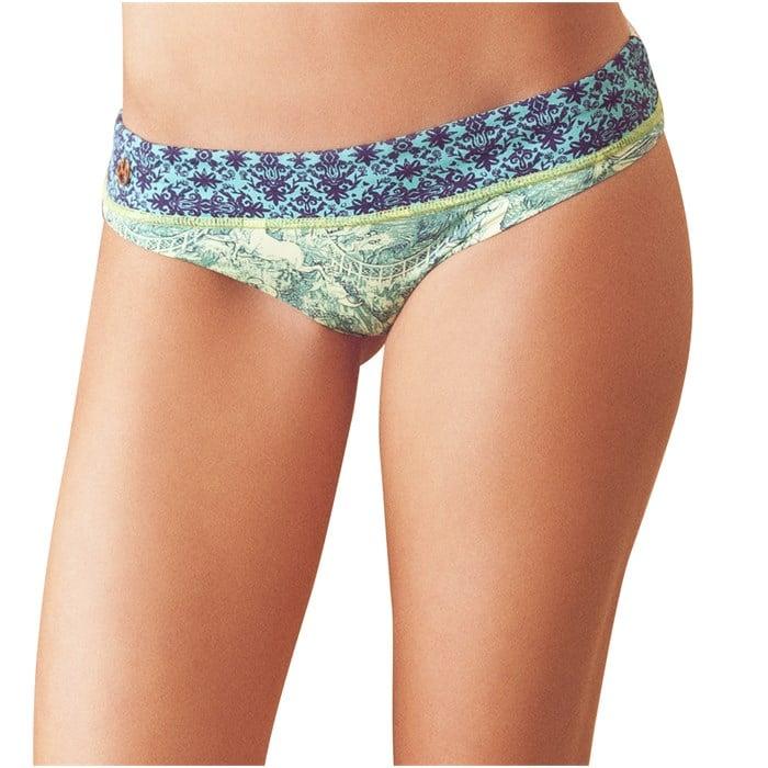 Maaji - Teal Topiary Bikini Bottom - Women's