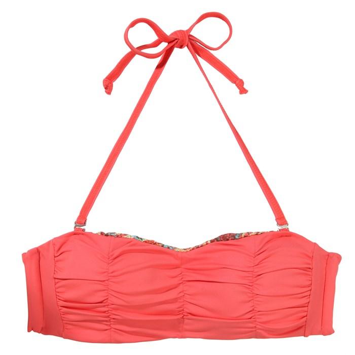 Maaji - Tangerine Ruches Bikini Top - Women's