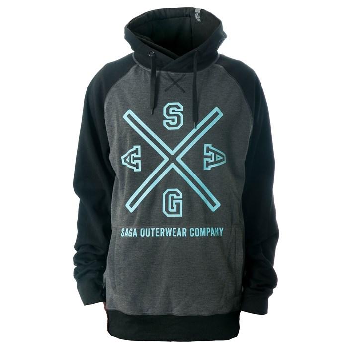 Saga - Crest Logo Pullover Hoodie
