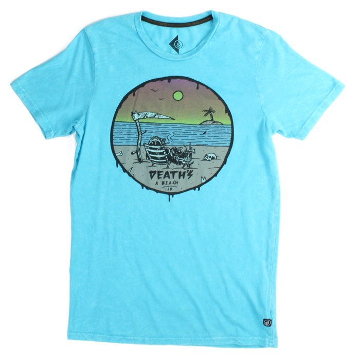 Volcom - Deaths A Beach T-Shirt