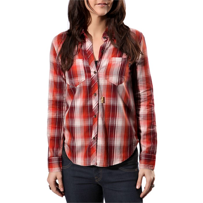 Vans - Saddle Rock LS Woven Button-Down Top - Women's