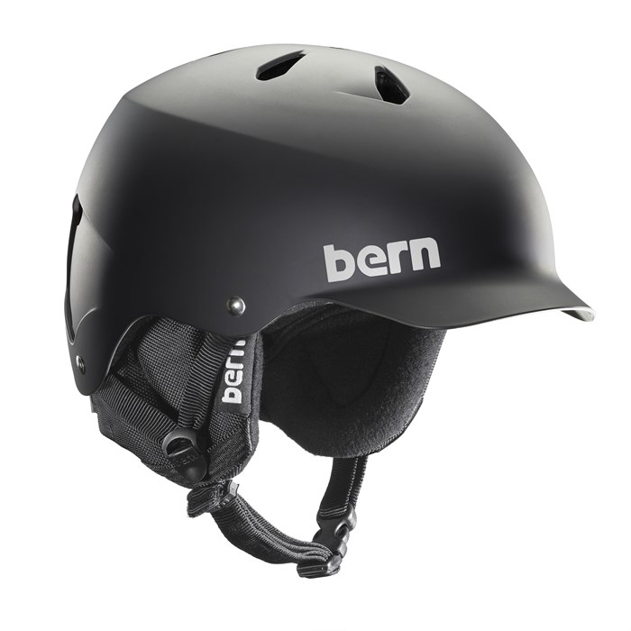Bern - Watts Hard Hat 8Tracks Audio Helmet