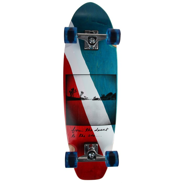 Girl - Ruby Republic Small Longboard Complete