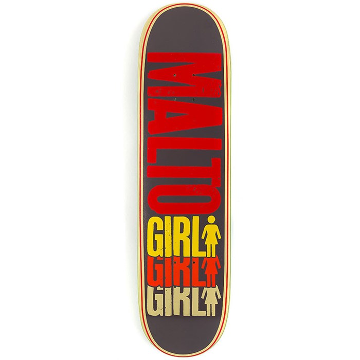 Girl - Malto Triple OG Skateboard Deck