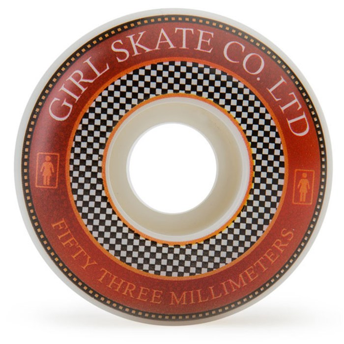 Girl - Badges 99a Skateboard Wheels