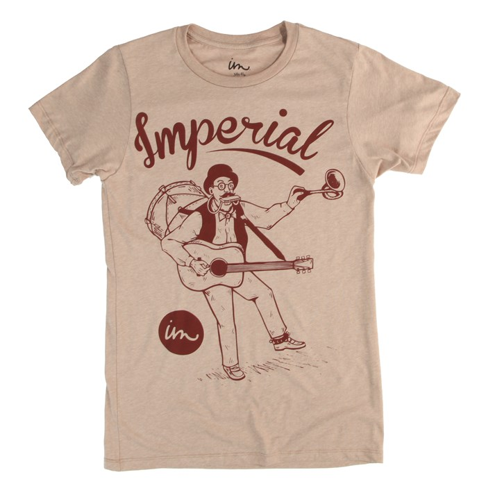 Imperial Motion - One Man Band Vintage Heather T-Shirt