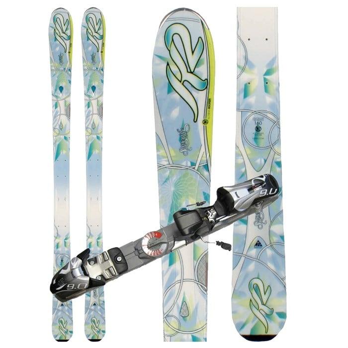 K2 - Superific Skis + Marker Speedpoint 9.0 Demo Bindings - Used - Women's 2012