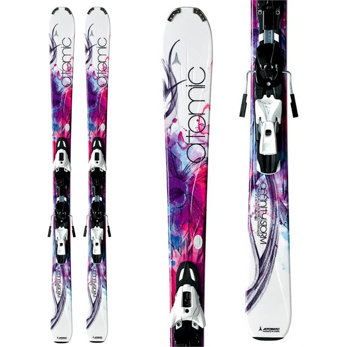 Atomic - Affinity Storm Skis + XTO 10 Demo Bindings - Used - Women's 2012
