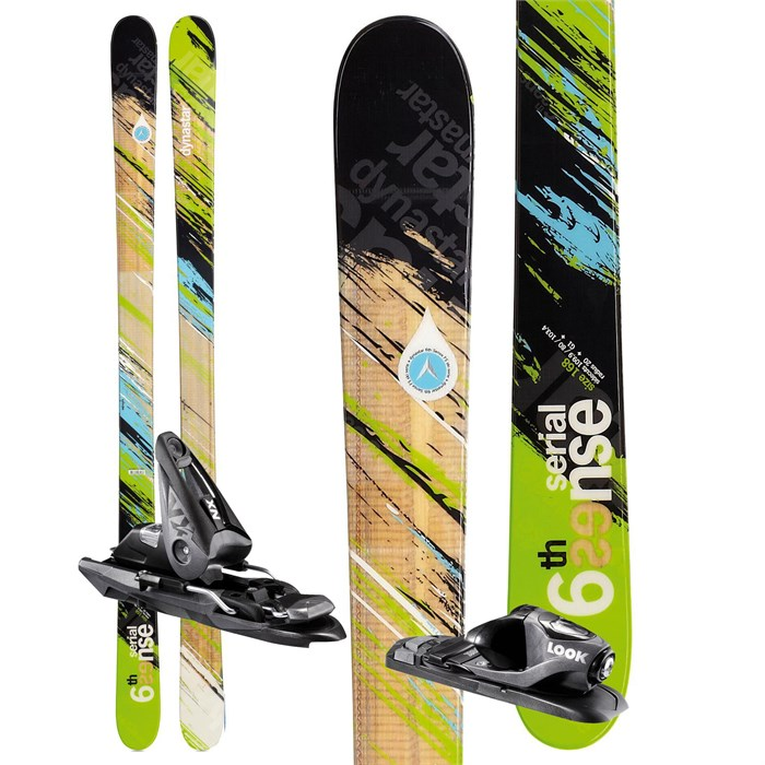 Dynastar - 6th Sense Serial Skis + NX 10 Demo Bindings - Used 2012