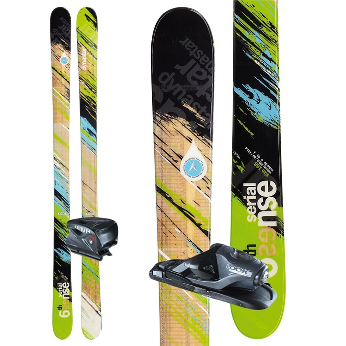 Dynastar - 6th Sense Serial Skis + Nova 7 Demo Bindings - Used 2012