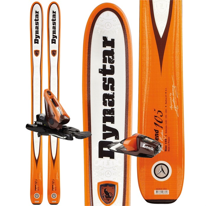 Dynastar - Legend 105 Skis + NX 12 Demo Bindings - Used 2012