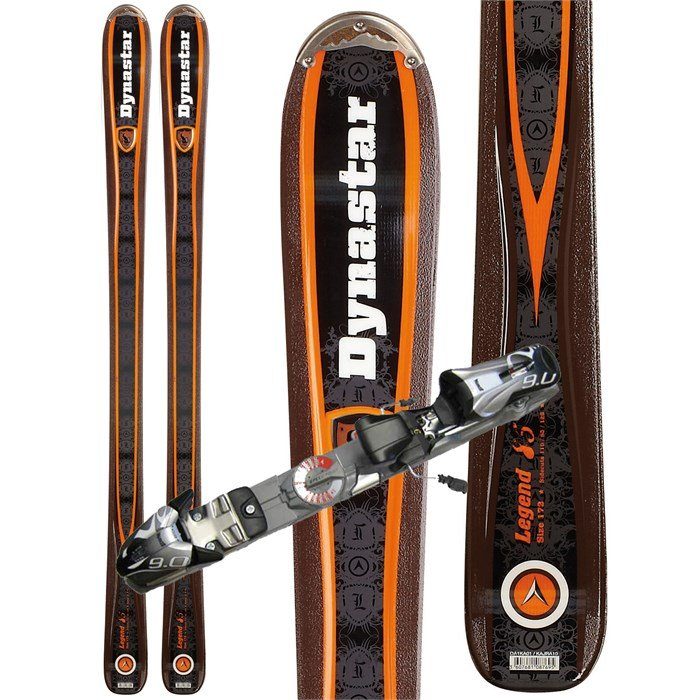 Dynastar - Dynastar Legend 85 Skis + Marker Speedpoint 9.0 Demo Bindings - Used 2012