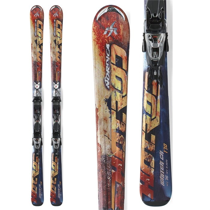 Nordica - Hot Rod Igniter CA Skis + Marker N Sport 10 Demo Bindings - Used 2012
