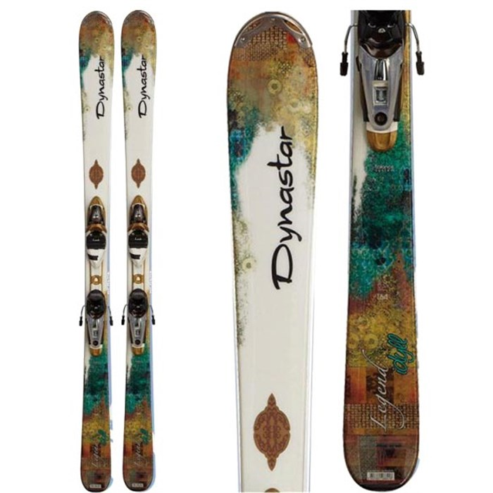 Dynastar - Exclusive Legend Idyll Skis + NX 11 Fluid Demo Bindings - Used - Women's 2012