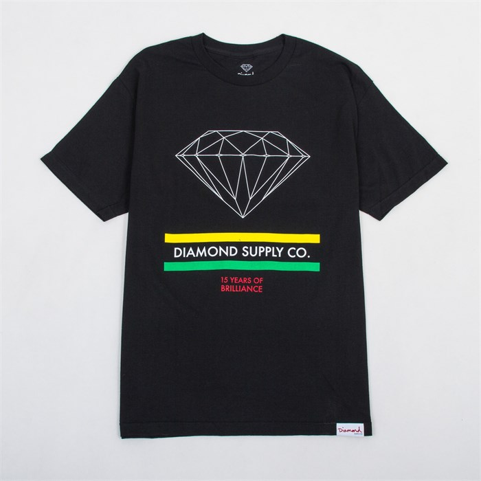 Diamond Supply Co. - 15 Years of Brilliance T-Shirt