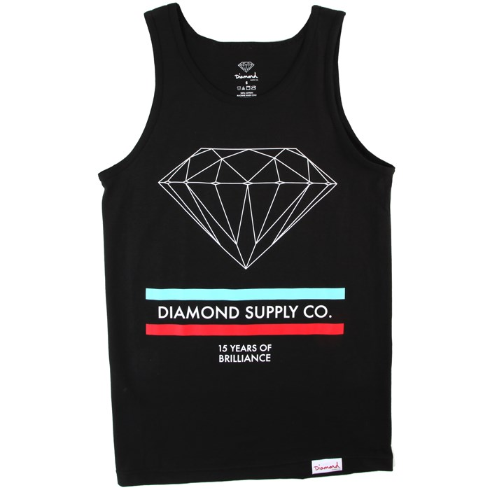 Diamond Supply Co. - 15 Years of Brilliance Tank Top