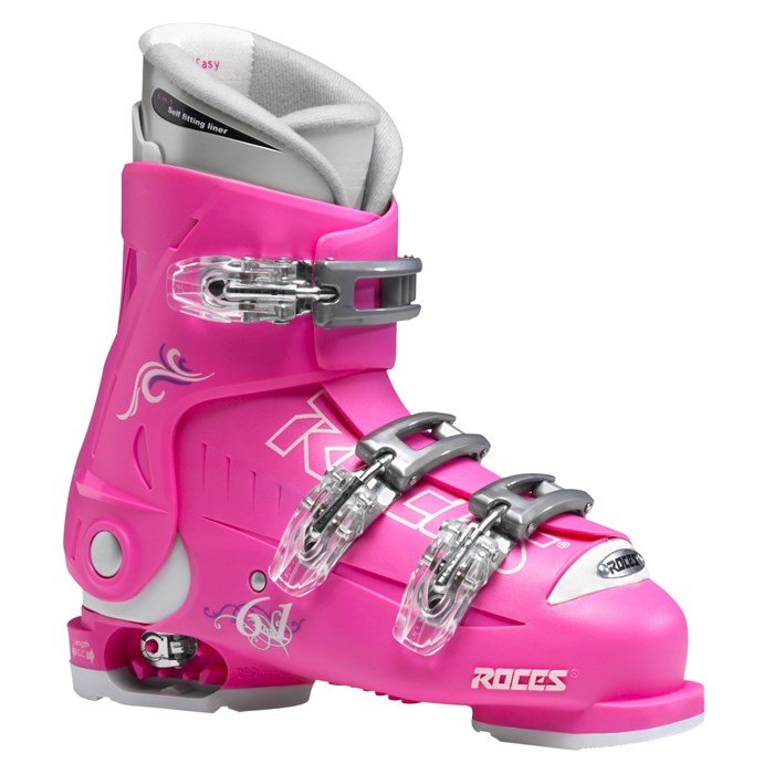 Roces - Idea Adjustable Ski Boots (22.5-25.5) - Kid's 2015