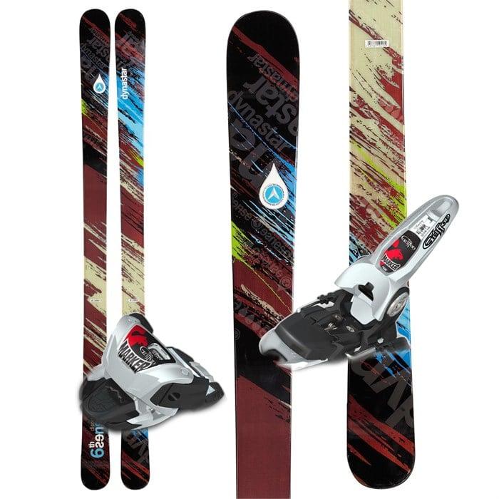 Dynastar Distorter 6th Sense Skis + Marker Griffon Demo