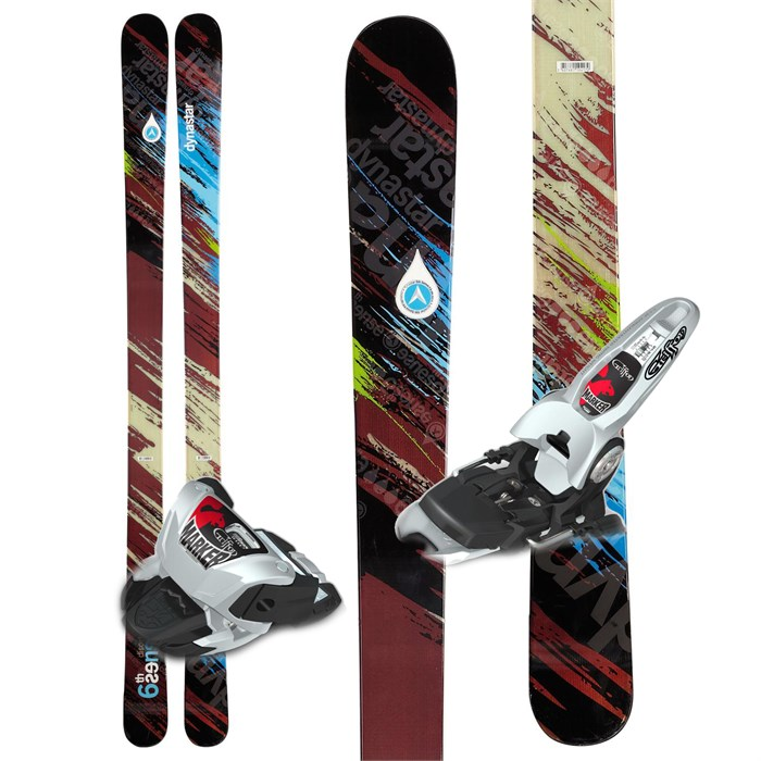 Dynastar - Distorter 6th Sense Skis + Marker Griffon Demo Bindings - Used 2012
