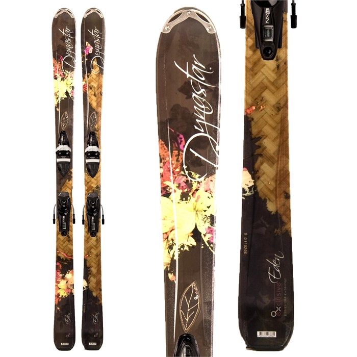 Dynastar - Exclusive Legend Eden Skis + NX 11 Fliuid Demo Bindings - Used - Women's 2011