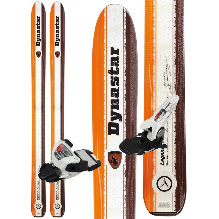 Dynastar - Dynastar Legend Pro Rider 115 Skis + Marker Griffon Demo Bindings - Used 2012