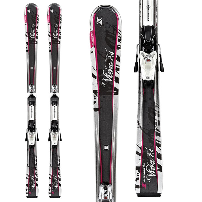 Blizzard - Viva 7.4 Skis + Marker IQ CT 10 Demo Bindings - Used - Women's 2012