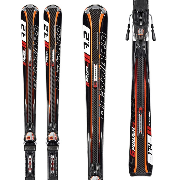 Blizzard - Blizzard G-Power FS Skis + IQ Power 12 Demo Bindings - Used 2012
