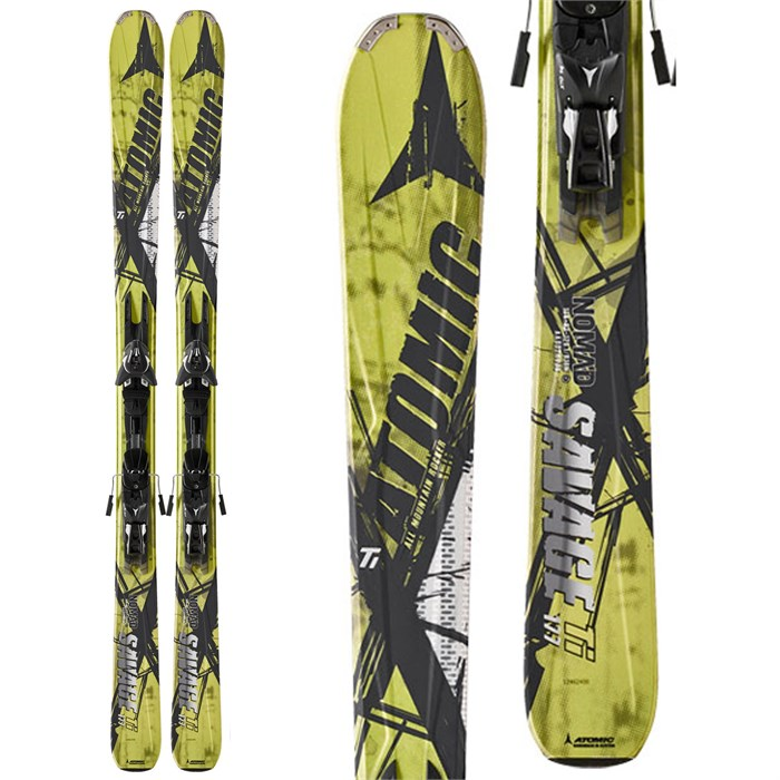 Atomic - Savage Ti Skis + XTO 12 Demo Bindings - Used 2012