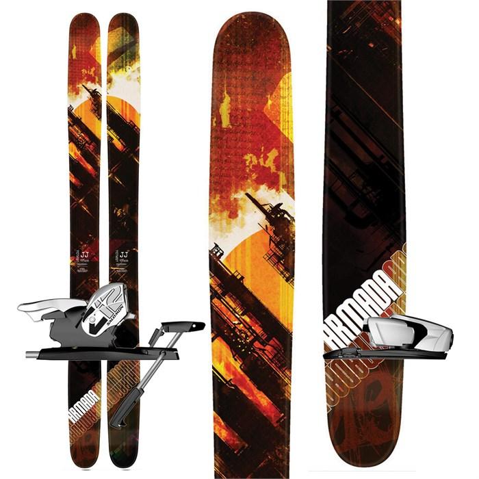 Armada - JJ Skis + Salomon Z12 Demo Bindings - Used 2012