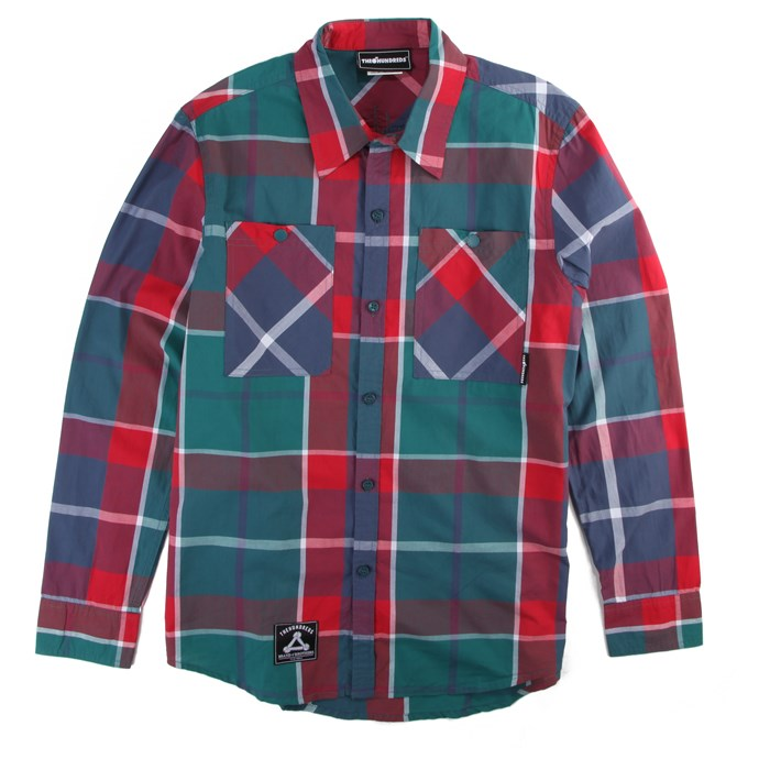 The Hundreds - Flax LS Woven Button Down