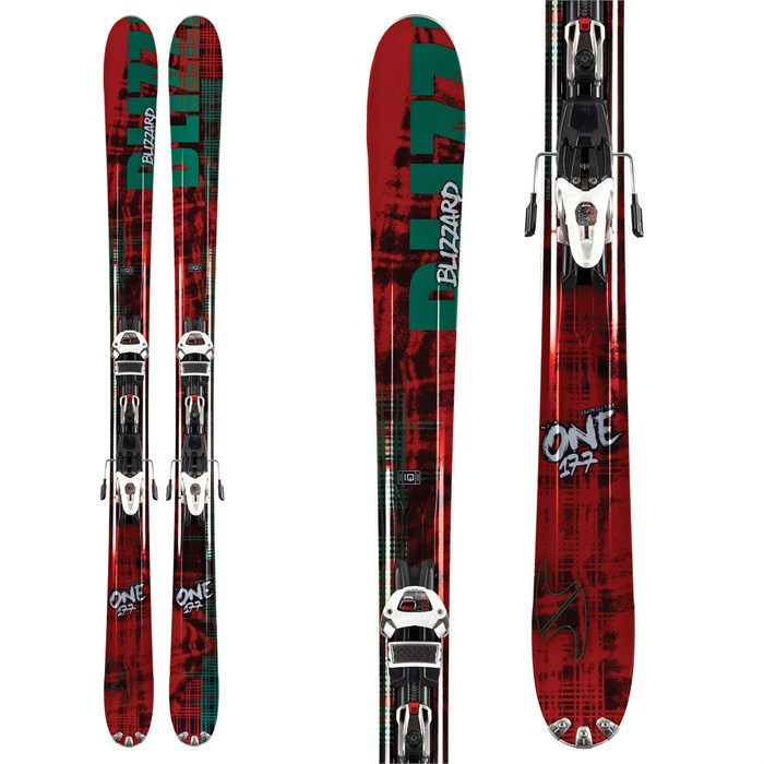 Blizzard - The One Skis + IQ Max 12 Demo Bindings - Used 2012