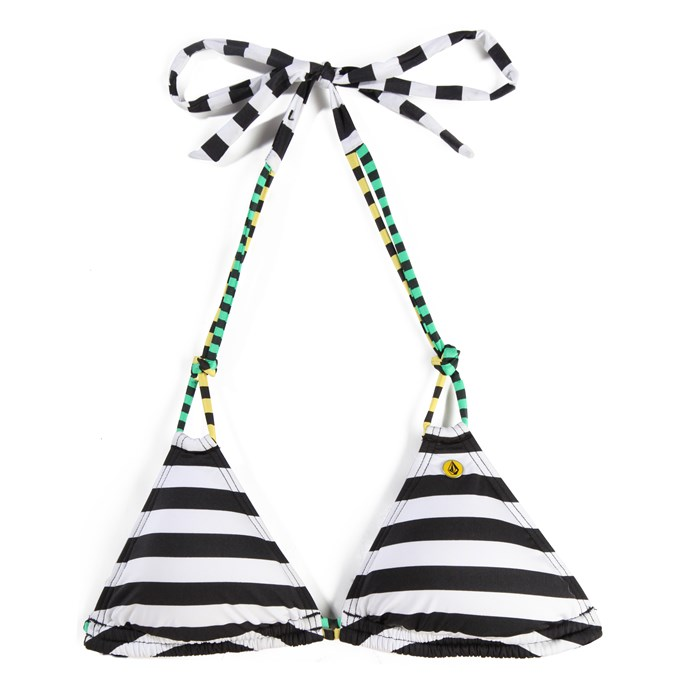 Volcom - Dotted Line Triangle Bikini Top - Women's