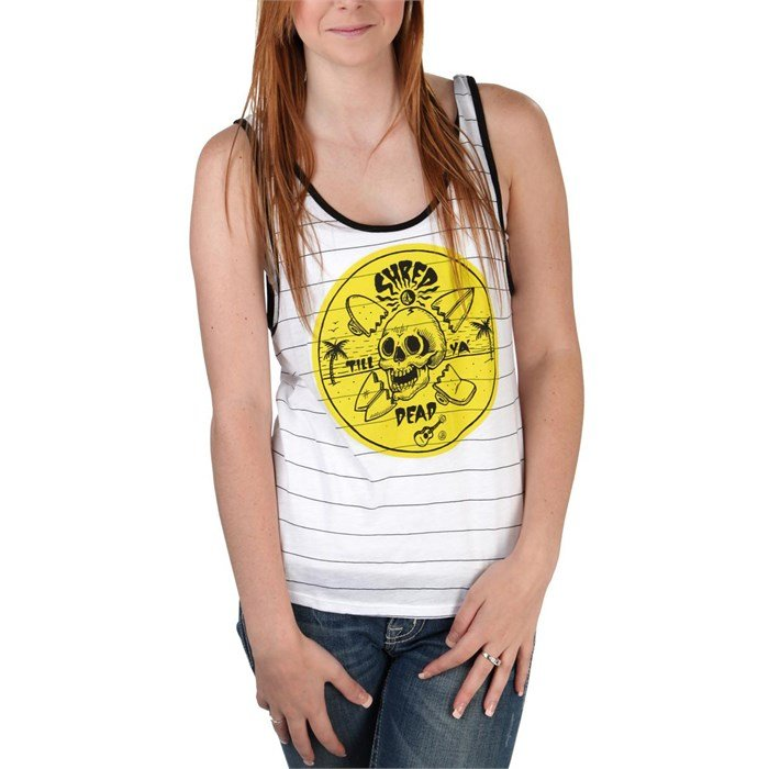 Volcom - Shred Till Dead Tank Top - Women's