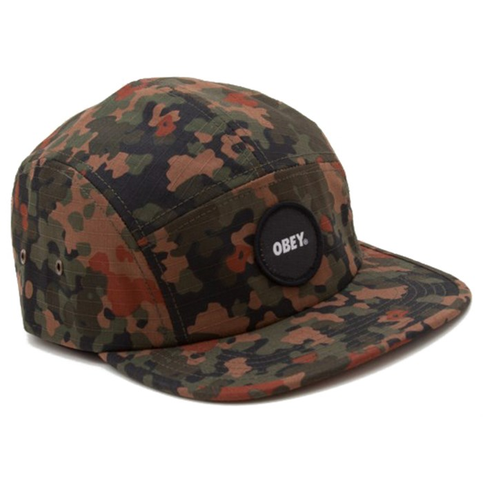 Obey Clothing - Circle Patch 5 Panel Hat