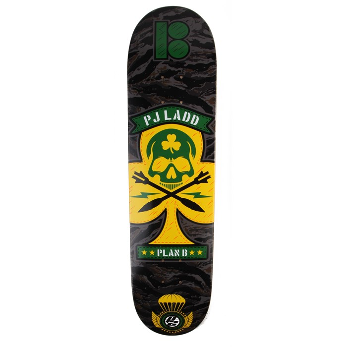 Plan B - PJ Ladd BDU Series Skateboard Deck