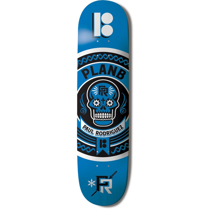 Plan B - Paul Rodriguez 2.0 Crest 8.0 Skateboard Deck