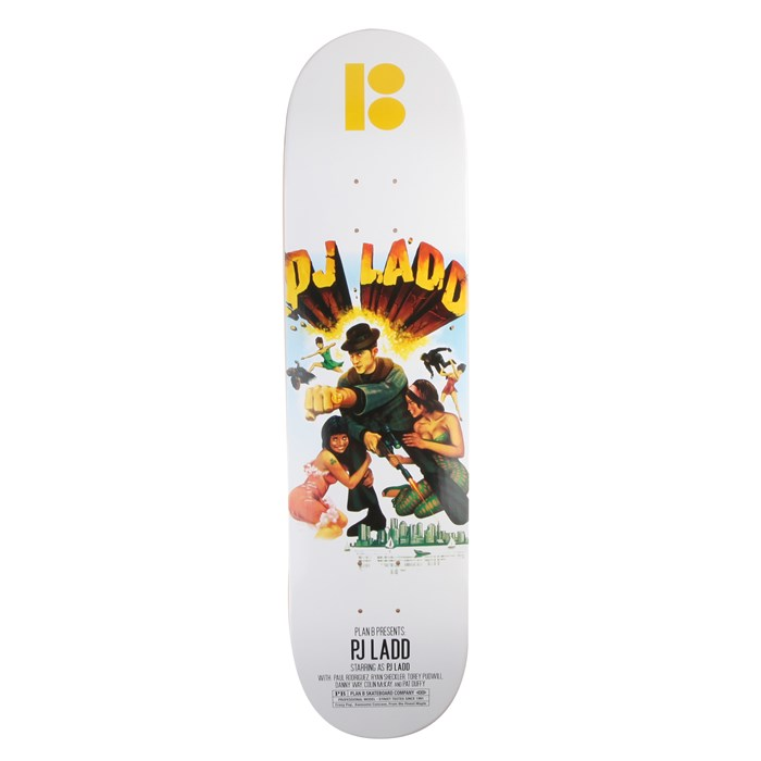 Plan B - Ladd Action Flick 8.0 Skateboard Deck